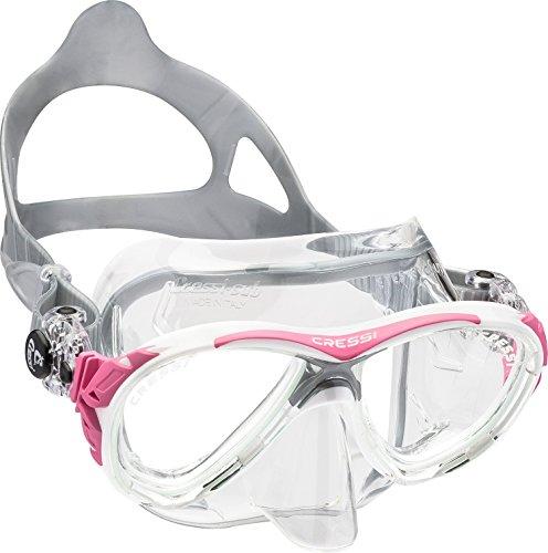 Cressi Eyes Evolution Crystal - Gafas Buceo Rosa Rosa