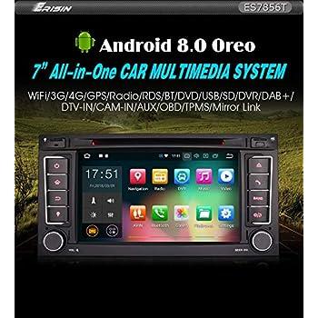 Erisin ES7956T 7 Android 9.0 GPS para Volkswagen VW Touareg T5 Multivan