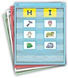 Teacher Created Resources Painted Wood Magnetic Mini Pocket Charts (14' x 17')