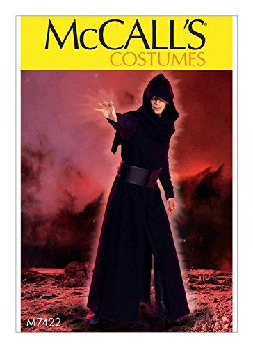 McCall 's Herren Schnittmuster 7422Game of Thrones Stil Mantel, surcot, Kapuze und Gürtel Kostüm
