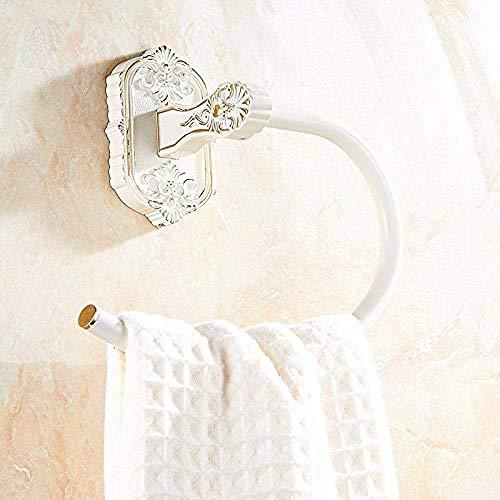 HYY-YY Bar de muur bevestigde rail muur bevestigde rail Rekken hanger een pendant gebakken witte verf ring