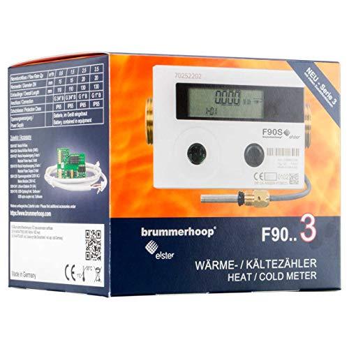 Wärmezähler Elster F90U3 Qp3,5 DN20 130mm Ultraschall Eichung 2020