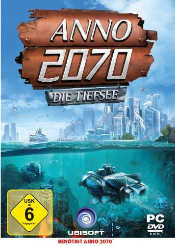 Ubisoft ANNO 2070 - Deep Ocean - Juego (PC, Estrategia, E (para todos), 2048 MB, Intel DualCore 2GHz, DirectX 9.0)