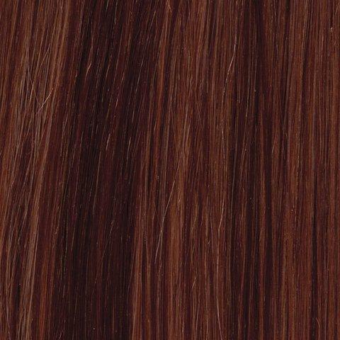 American Dream original de qualité 100% cheveux humains 30,5 cm soyeuse droite trame Couleur 30/33 – Topaze/Cuivre Riche