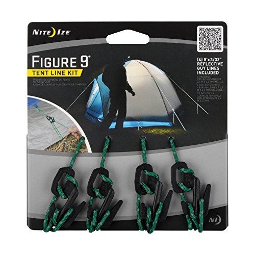 NITE IZE F9T4-03-01 Figure 9 Tent Line Kit, X