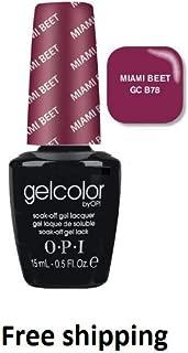 Gelcolor GC B78 Miami Beet - Soak Off Gel Nail Polish 0.5oz/15mL