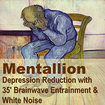 Depression Relief with 35' brainwave Entrainment and White Noise