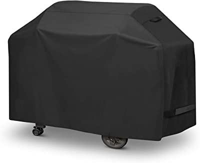 Arcedo GrillCover, 64 Inch Heavy Duty WaterproofBBQ Cover, All WeatherResistant, Outdoor4-6Burner Gas Propane Grill Cover Fits Weber Char-BroilNexgrill Napoleon and MoreGrills