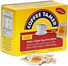 Coffee Tamer 50ct 400mg Packets- Acid Reducing Granules