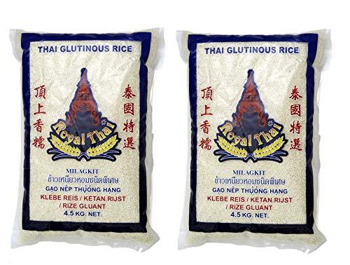 2er-SPARPACK - Royal Thai [2x 4,5kg] Klebreis, Glutinous Rice, Klebereis