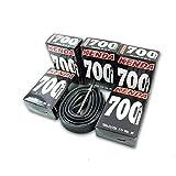 サイクルチューブ 700×23-25C F/V PV仏式バルブ レース ロード自転車 チューブ 700C 35mm (35mm)
