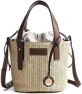 BBGSFDC Bolso de la Bolsa de la Playa del Bolso del Bolso del Bolso del Bolso del Bolso para Las Mujeres (Color : Brown)
