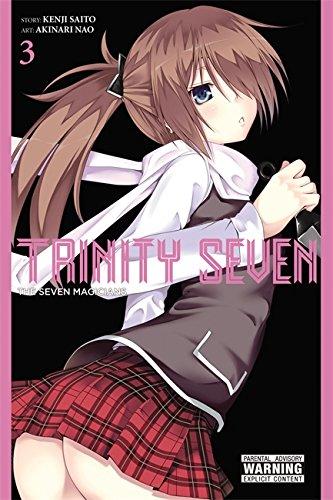 Trinity Seven, Vol. 3: The Seven Magicians