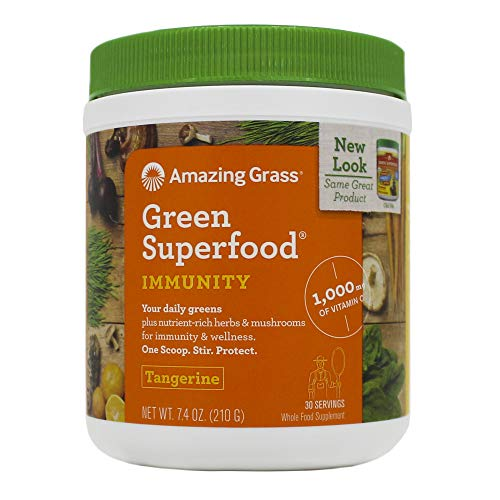 Amazing Grass Immunity Green SuperFood - 240g (0.53lbs)