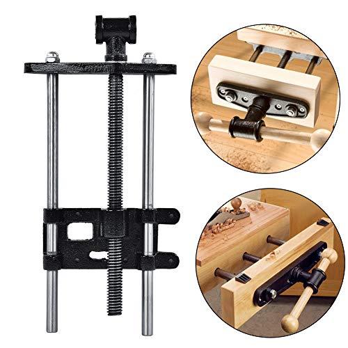 Schraubstock für Tischlerarbeiten, 26,7 cm, strapazierfähig, für Holzhandwerker, Schraubstock, Holzbearbeitung, Metallklammer