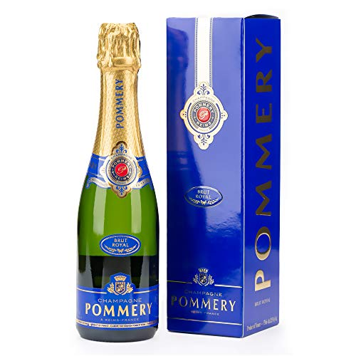 Champagne Pommery Brut Royal mit Geschenkverpackung (1 x 0.375 L)