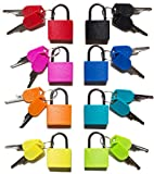 Best Lock Keys - Padlock, (8 Pack) Small Padlock with Key Review