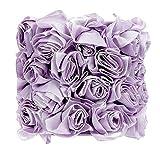 Jubilee Collection 2423 Rose Garden Drum Shaped Chandelier Shade, Lavender
