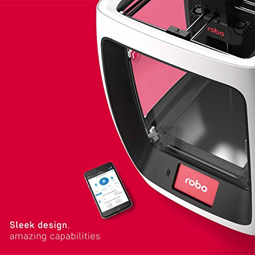 Robo R2 High Performance Smart 3D Printer with Wi-Fi — 8 x 8 x 10″
