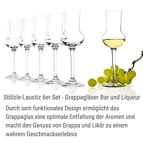 Stölzle Lausitz Grappagläser - 5