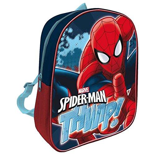 Spiderman Zainetto per bambini, multicolore (Multicolore) - AS070