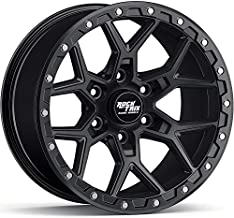 RockTrix RT107 17 inch Wheel Compatible with 01-21 Toyota Tacoma 6x5.5