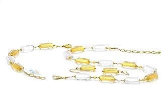 Set di gioielli invernali 4 stagioni in vero vetro di Murano