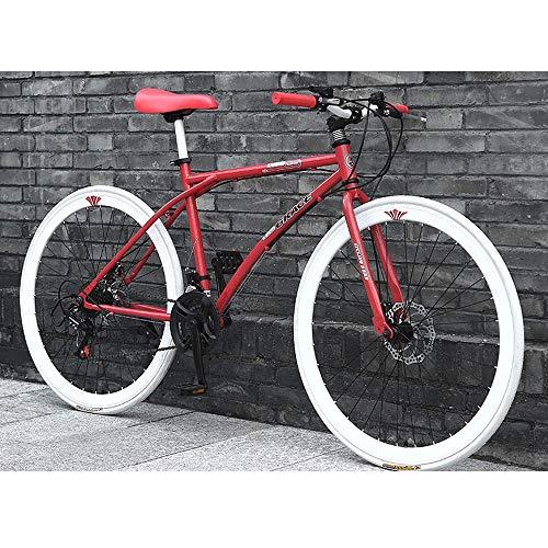YXWJ 2020 Bicicletas de montaña Nueva Bicicleta de montaña País de los Hombres de 24 Velocidad 26/24 Pulgadas Ciclismo de Carretera 40 Suspensión Cuchillos montaña de la Bicicleta Bici de montaña