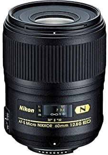 Nikon 60mm f/2.8G ED AF-S Micro-Nikkor Macro Autofocus Lens Imported