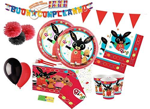 Irpot Kit n 54 Addobbi Festa Bing & Friends Coordinato
