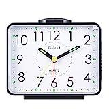 Tinload 4' Loud Crescendo Bell Alarm Clock Silent...