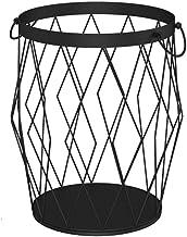 Iron Dirty Clothes Storage Basket Laundry Lou Household Finishing Basket Toy Storage Basket Bathroom Place Basket Large Capacity Laundry Basket,B