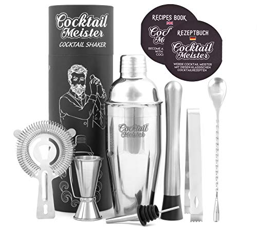 CocktailMeister Premium Shaker Set Bild