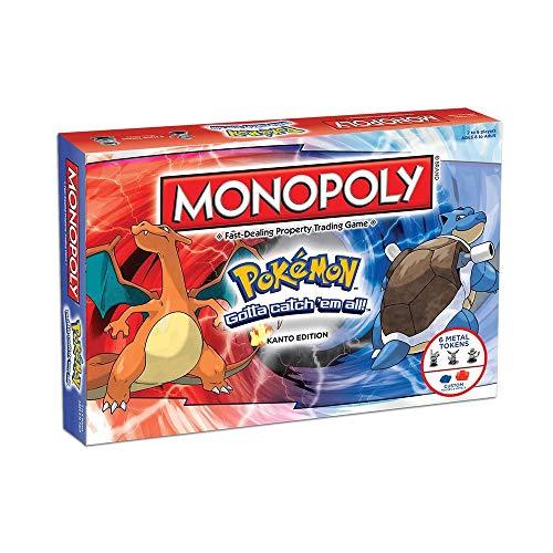 ICVDSRG Monopoly Pokemon Juego De Mesa Juego De Mesa