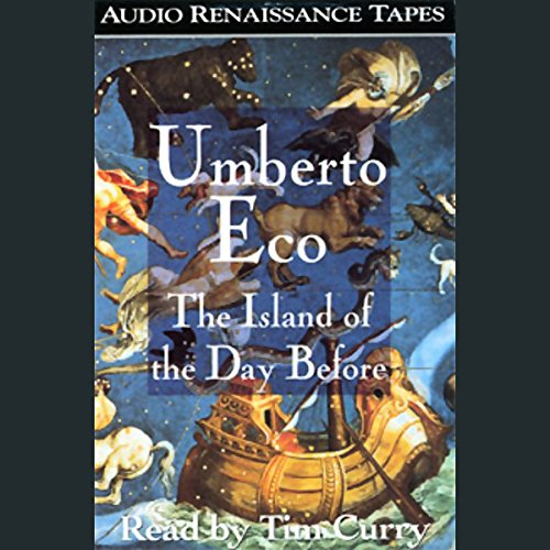 The Island of the Day Before audiobook cover art