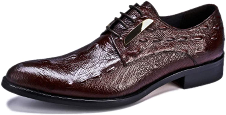 Skor för för för män, skor, damskor, klassisk bröllopshöst, vinter, krokodilmönster för mäns skor, tillfälliga skor  det senaste