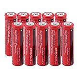 Environmentally Friendly 3.7V 18650 3000mAh Li-ion Portable Rechargeable Battery for Flashlight Torch