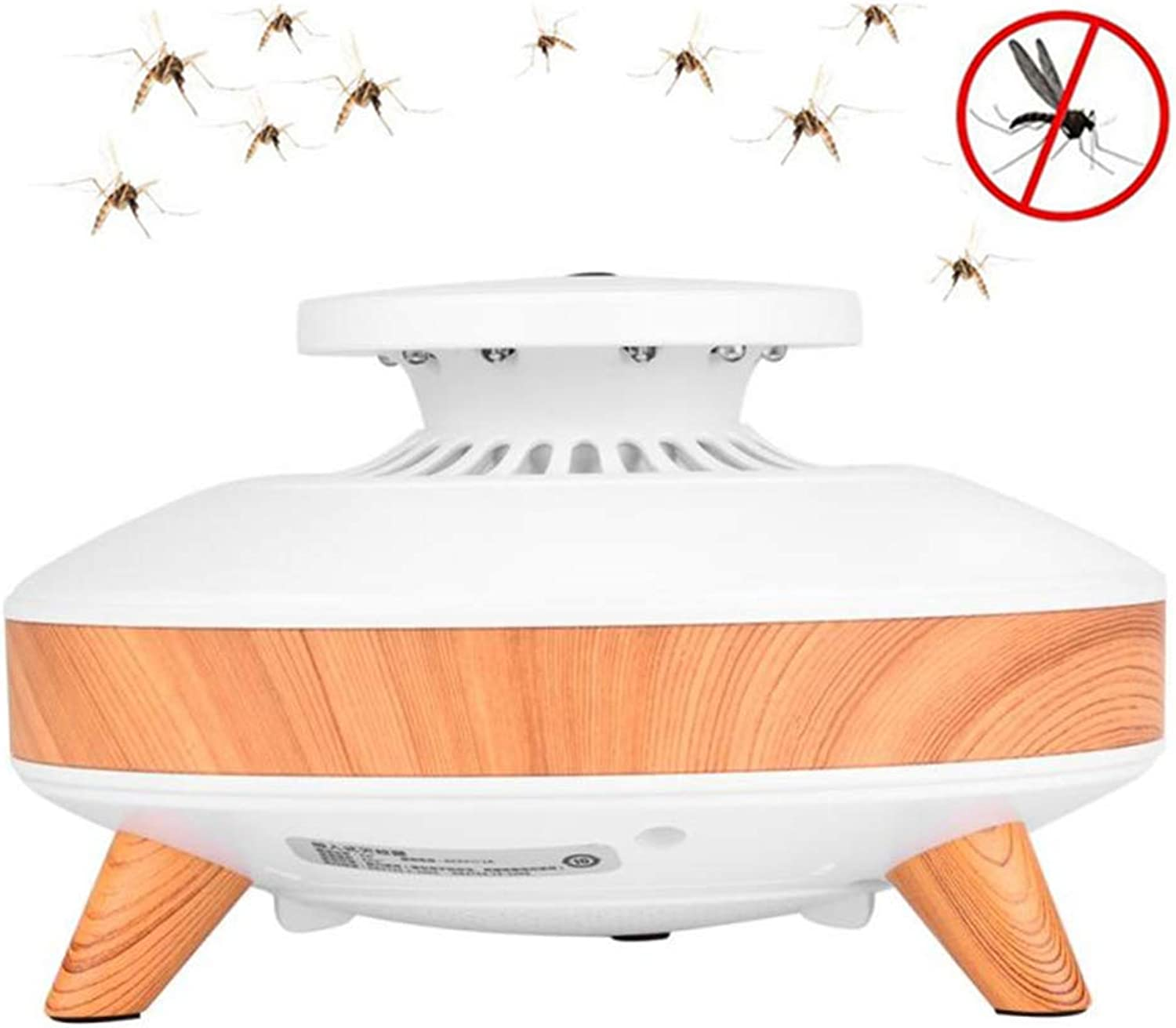 Bug Zapper Indoor Mosquito Killer Trap Lamp Electronic Insect Killer, USB Powered,Nontoxic,NonChemical,for Indoor Bedroom Kitchen