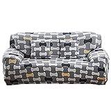 WXQY Funda de sofá de Muebles de Sala de Estar,Funda de sofá de Esquina elástica elástica,Funda Protectora de sofá de Muebles en Forma de L A10 2 plazas