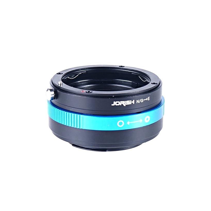 Jorish Lens Mount Adapter - Nikon Nikkor F Mount G-Type D/SLR Lens to Sony Alpha E-Mount Mirrorless Camera Body