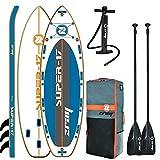 Tabla Paddle Surf Hinchable Grande XXL | Modelo Sup 17 | para Adulto, Hombre, Mujer y Niños Inflables Rígida con Remo para Hacer Sup en el Mar, Playa o Rio