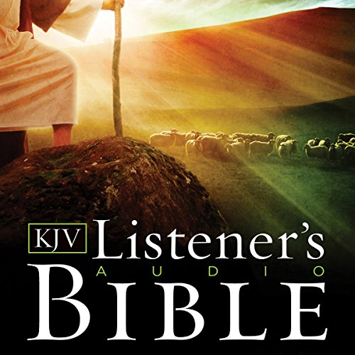KJV, Listener's Audio Bible, Audio Download audiobook cover art