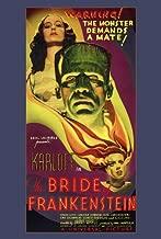 The Bride of Frankenstein Movie Poster (27 x 40 Inches - 69cm x 102cm) (1935) -(Boris Karloff)(Elsa Lanchester)(Ernest Thesiger)(Colin Clive)(Una O'Connor)(Valerie Hobson)