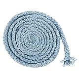 Jun multicolores 8-Strand trenzado cuerda de algodón...