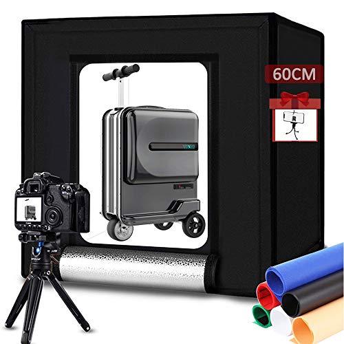 Tienda de campaña portátil para estudio fotográfico de 60 cm x 60...
