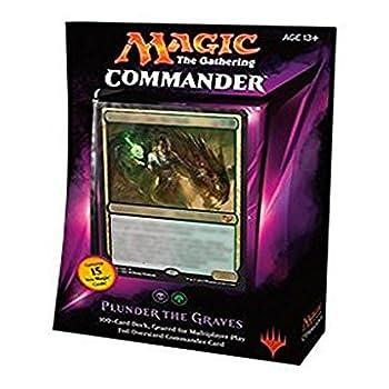 plunder the graves commander deck