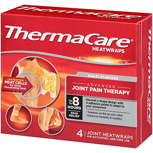Thermacare Joint Heat Wraps, 4 Count by ThermaCare