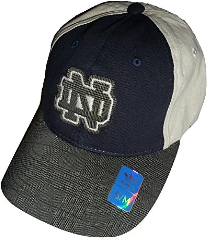 Adidas Notre Dame Fighting Irish Adult Flex Slouch Cap  Fashion color Hat (S M)