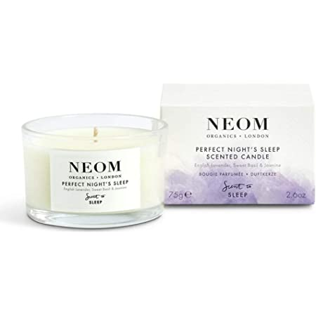 NEOM – Tranquillity Scented Candle, Travel Size, 2.6 oz - Relaxing Scent To Sleep Range
