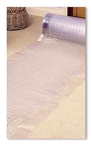 New 27' x 144' Vinyl Non Skid Ribbed Floor Protector Carpet Runner Made in USA